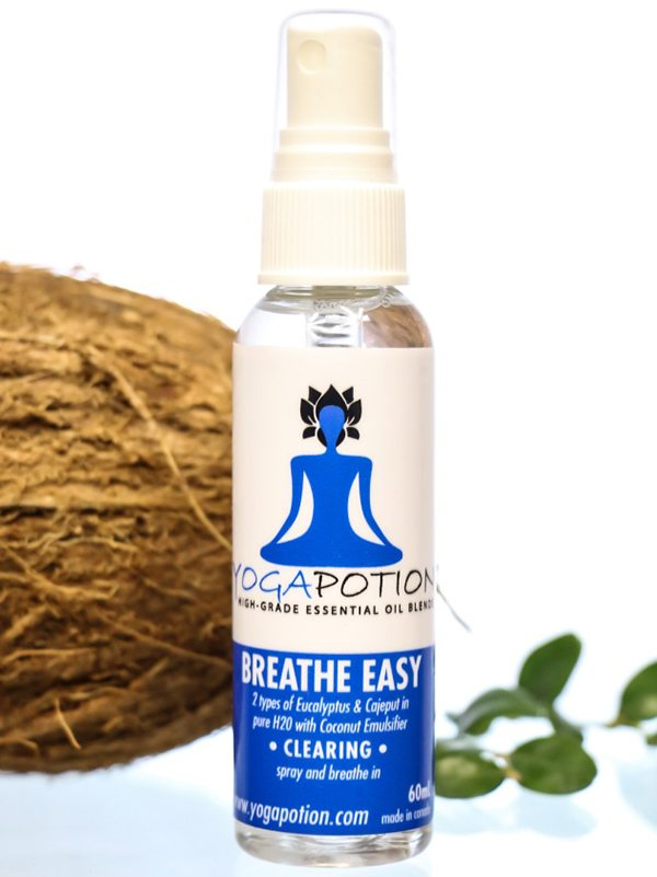 BreathEasy Spray, essential oils for breathing, aromatherapy for breathing, natural room cleaner, natural room freshener, natural health