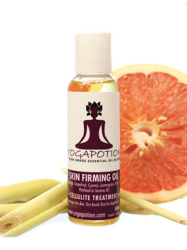 Skin Firming oil, essential oils for skin, natural health, natural cellulite treatment
